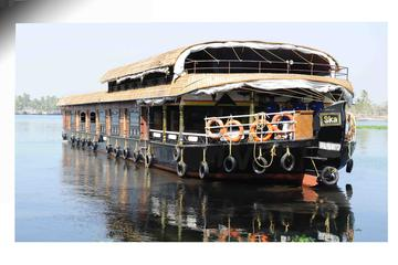 Day tour in Alleppey houseboat