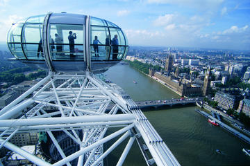 Billet coupe-file pour le London Eye