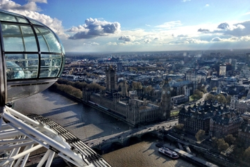 London Eye: romantische privécapsule ...
