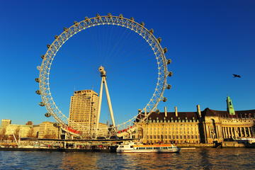 London Eye: Sejltur på Themsen med valgfri standardbillet til London...