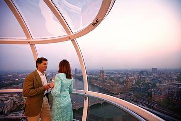 London Eye: Utsikt og champagne