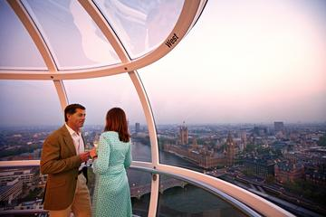 London Eye: viaje con champán