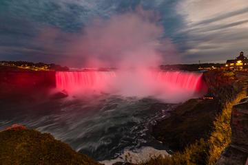 Light up Niagara Falls