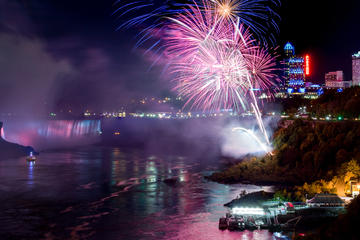 Niagara Falls Illumination Tour with Evening Fireworks Show and...