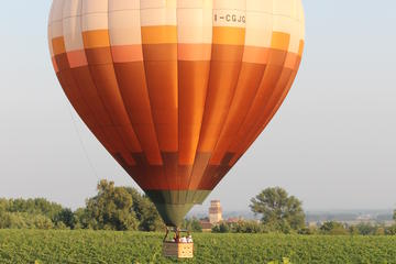 Hot Air Balloon Flight in the Countryside
