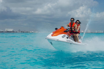 Waverunner Adventure in Cancun with Transportation