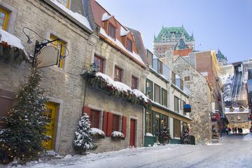 Noël dans la ville de Québec : visite gastronomique en petit groupe