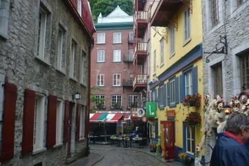 Visite privée: visite à pied de la ville de Québec