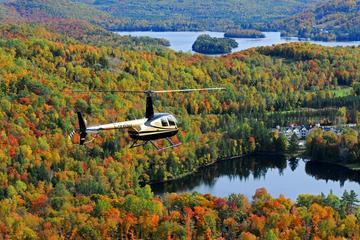 Excursion en hélicoptère au-dessus du Mont-Tremblant