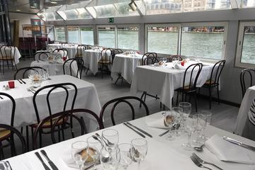 Dinner Cruise on Saint Martin Canal and the Seine River: La Guinguette du Canal