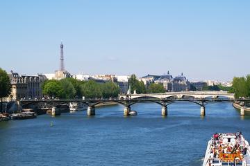 Sejltur på Seinen og kanalerne i Paris