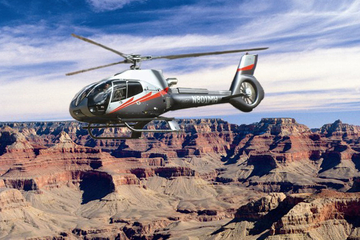 Survol du Grand Canyon en hélicoptère...