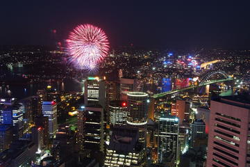 New Year's Eve at Sydney Tower Buffet Restaurant
