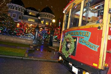 Excursão de luzes de natal e bonde com karaokê em Vancouver
