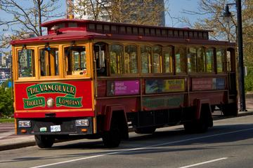 Vancouver Trolley Hop-On Hop-Off Tour, Capilano Suspension Bridge...