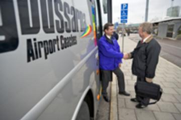 Transfert de départ partagé vers l'aéroport d'Arlanda