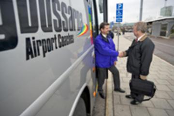 Transfert partagé à l'arrivée à l'aéroport de Skavsta