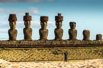 Excursión privada de día completo de los monumentos moai de Isla de...