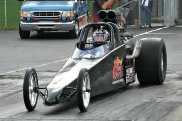 Dragster Drive Experience At Lucas...