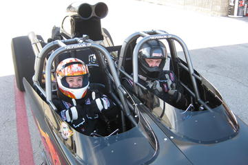 Ride Along In A Dragster At Lucas Oil...