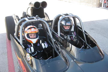 Ride Along In A Dragster At Raceway...