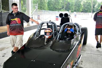 Ride Along in a Dragster at Virginia Motorsports Park
