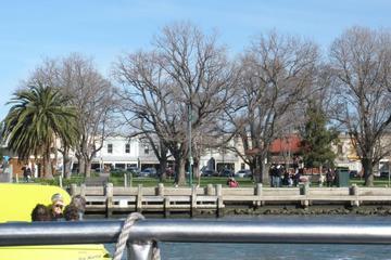 Cruzeiro e balsa em Melbourne e Williamstown
