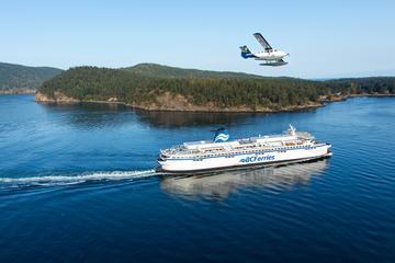Vancouver til Victoria med flyvebåd...