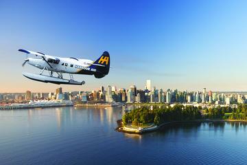 Vancouver till Victoria med sjöflygplan och färja
