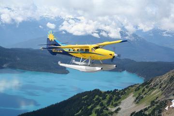 Von Vancouver nach Whistler - Flug mit Panoramablick