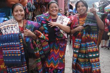Tour completo de un día: mercado maya de Chichicastenango y lago...