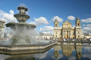 Visita turística de día completo a la ciudad de Guatemala y Antigua