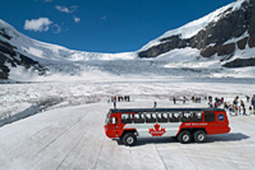 Excursão a Columbia Icefield...