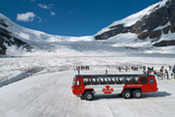 Tour naar Columbia Icefield, inclusief Glacier Skywalk vanuit Calgary