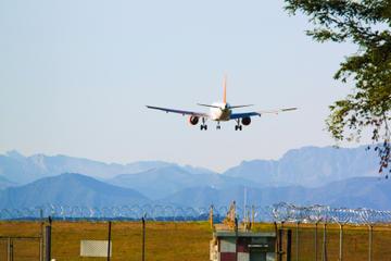 Traslado compartilhado de chegada: Aeroporto de Calgary até os Hotéis...