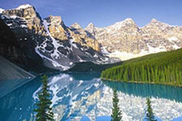 Viagem diurna aos lagos e cachoeiras das montanhas de Banff