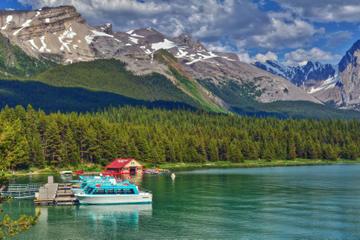 Visite de la ville de Jasper et croisière sur le lac Maligne