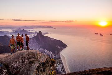 Trekking at Pedra da Gavea in Rio de...