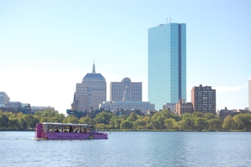 Rundtur i Boston med amfibiefordon (duck tour)