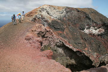 Sierra Negra Volcano Walking Tour in Isabela Island
