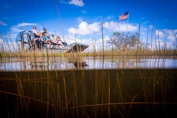 Everglades, Sumpfboot, Wildtier-Vorstellung und Transport von Miami