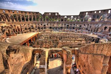 Anciens monuments de Rome avec pass coupe-file