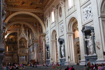 St John Lateran Holy Stairs and Baptistery Small Group Tour