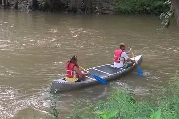 Book Two Person 2-Day Trip with Canoe Along The Blue River in Indiana on Viator