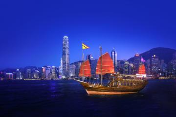 Aqua Luna: croisière en soirée dans le port Victoria à Hong Kong