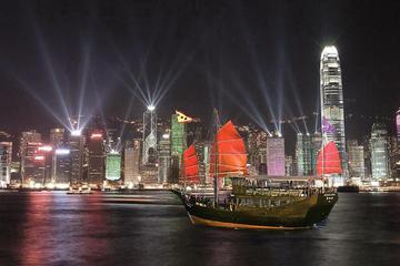 Aqua Luna - Sinfonia de show de luzes em Hong Kong