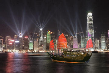 Aqua Luna - Symphony of Lights Bootstour in Hong Kong