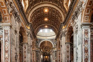 行列をスキップ:バチカン美術館、システィーナ礼…