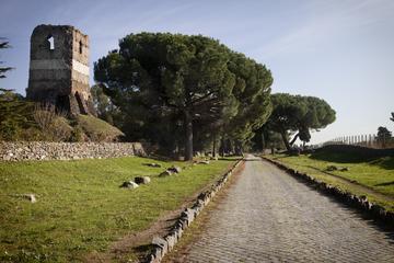 Halvdagstur till fots genom Roms katakomber och landsbygd