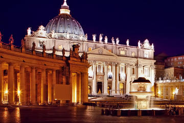 Rundgang am Freitag Abend durch die Vatikanischen Museen...